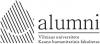 VU KHF Alumni draugija logotipas