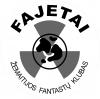 """Žemaitijos fantastų klubas """"Fajetai"""" logotipas"""