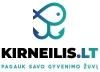 Žvejyba Kirneilio ežere logotipas
