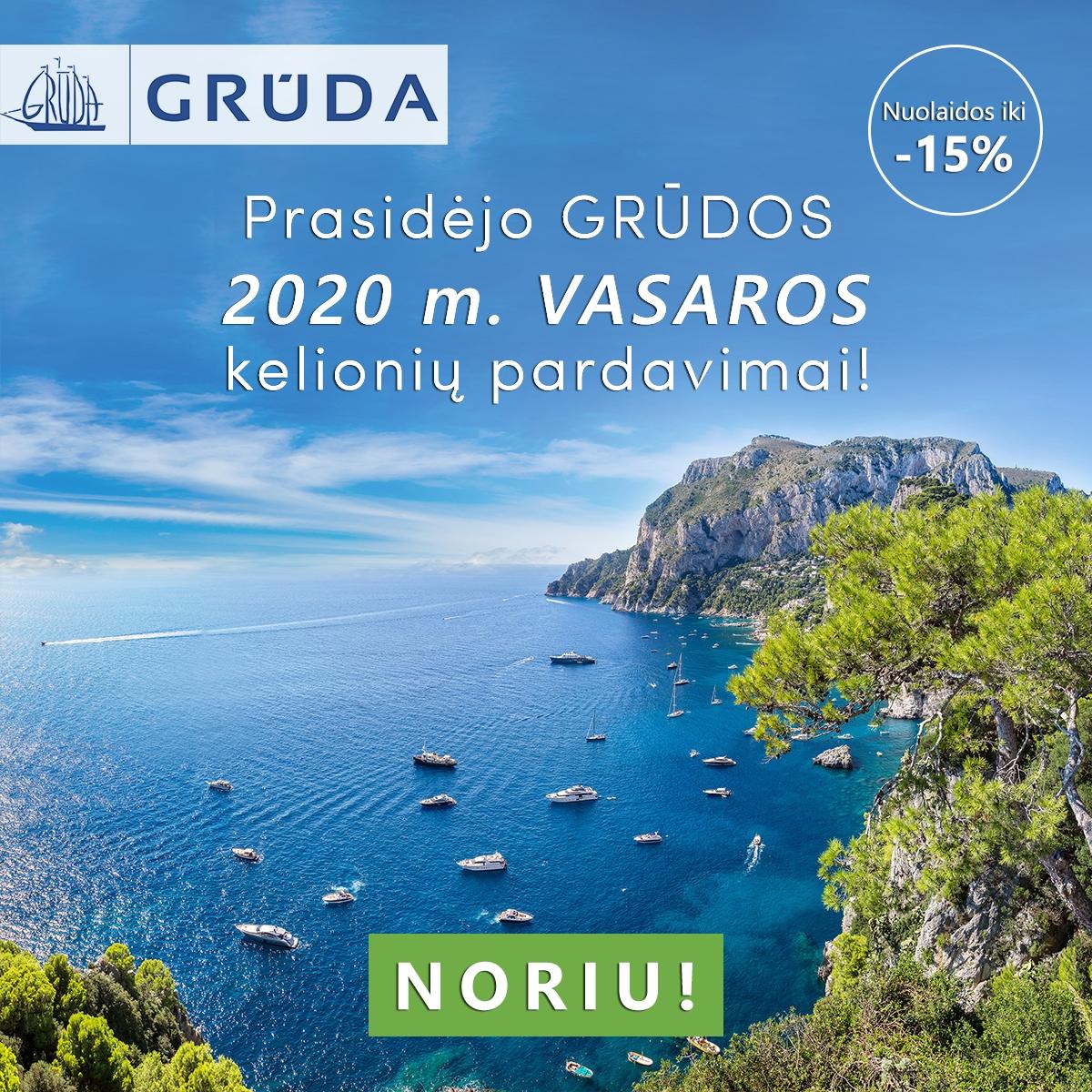 GRŪDA - Gera keliauti kartu