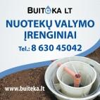 BUITINIAI NUOTEKŲ VALYMO ĮRENGINIAI
