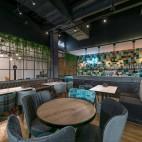 Minkšti baldai kavinėms