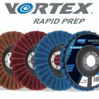 NORTON Vortex Rapid Prep lapelinis šlifavimo diskas