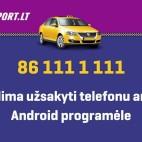 Pigus taksi Lietuvoje 861111111