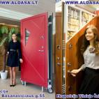 Šarvuotos durys, šarvuotų durų gamyba ir montavimas