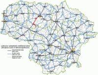 Atstumas tarp Lietuvos miestų