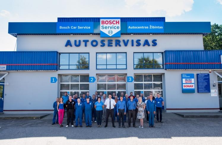 "Autocentras ""Žibintas"" tapo ""Bosch Car Service"" automobilių serviso tinklo nariu"