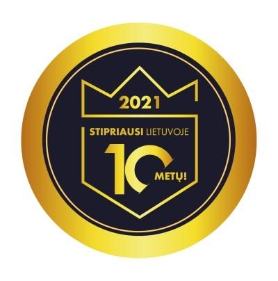 Dešimtmečio Stipriausi Lietuvoje 2021