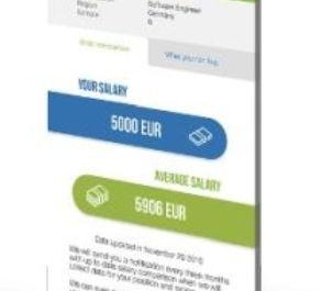 Palyginti atlyginimą jau galima ir su mobiliąja aplikacija