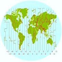 Pasaulio šalių laiko zonos (laiko juostos)