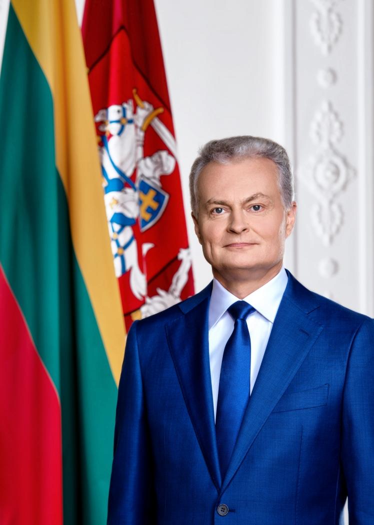"""Prezidentas Gitanas Nausėda apie Rekvizitai.lt tvaraus ir atsakingo verslo įvertinimą """"TOP Įmonės"""" 2021"""