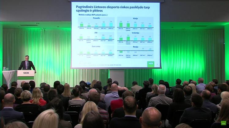SEB bankas: Lietuvos makroekonomikos apžvalga (2016-10-14)