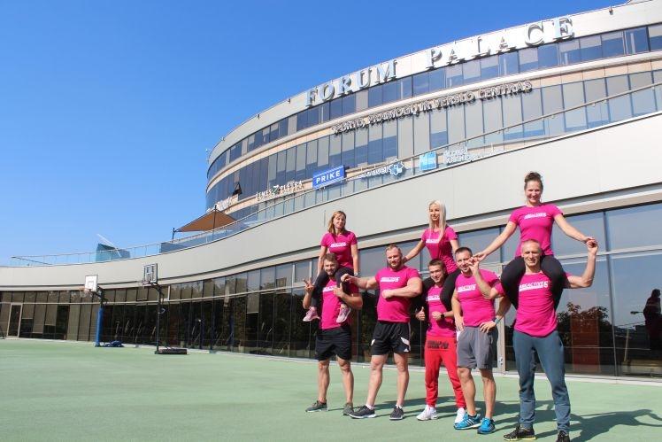 Sezono atidarymo renginyje FORUM sporto klubas pristatys netradicines veiklas: nuo meno iki juoko terapijos