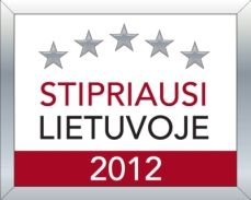 Stipriausi Lietuvoje 2012