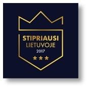 Stipriausi Lietuvoje 2017