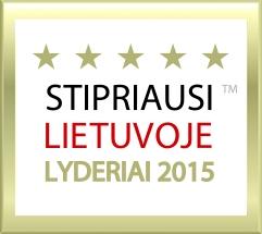 Stipriausi Lietuvoje Lyderiai 2015