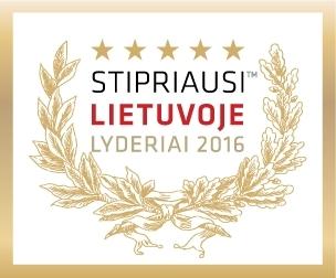 Stipriausi Lietuvoje Lyderiai 2016
