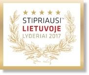 Stipriausi Lietuvoje Lyderiai 2017