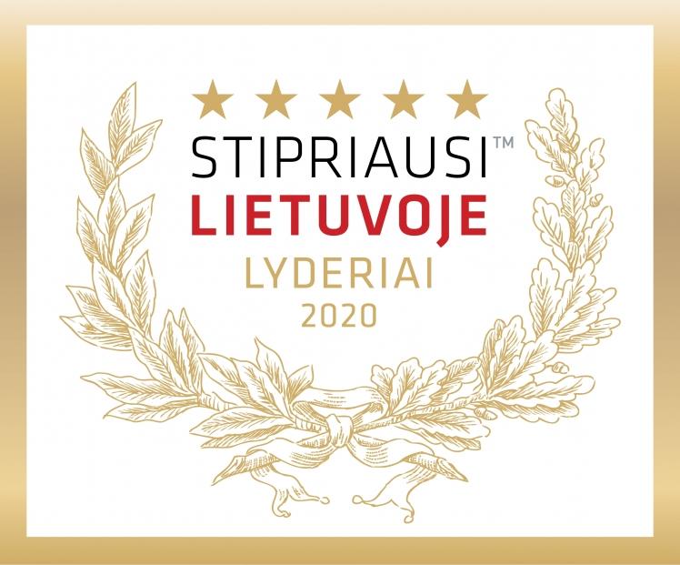Stipriausi Lietuvoje Lyderiai 2020