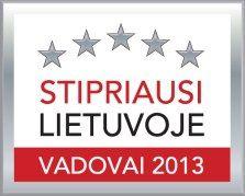 Stipriausi Lietuvoje vadovai 2013