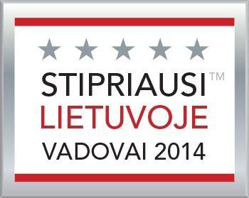 Stipriausi Lietuvoje vadovai 2014
