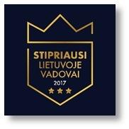 Stipriausi Lietuvoje vadovai 2017