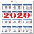 Kalendorius 2020-iems metams