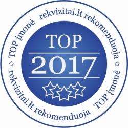 TOP įmonės 2017