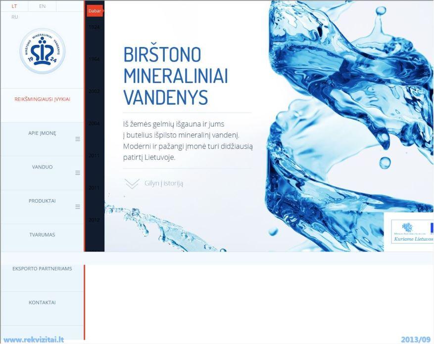 Birštono mineraliniai vandenys rekvizitai