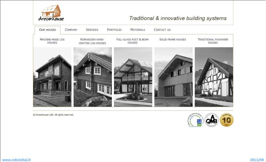 Website Http Www Dreamhouse Lt Work