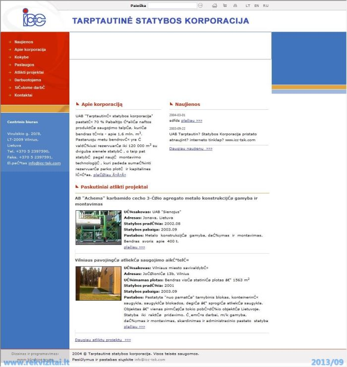 sistemos prekybos korporacijos svetainė)
