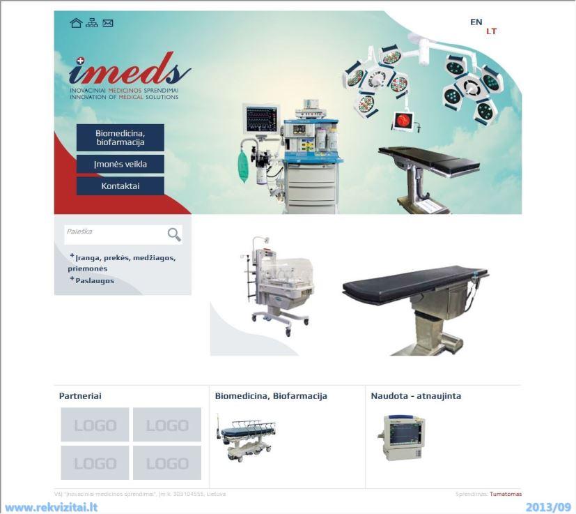 Medicinos technika, įranga
