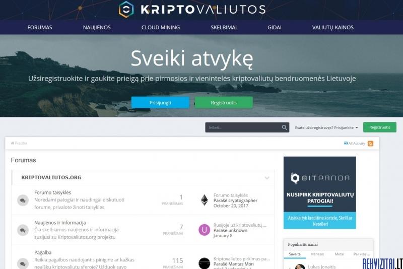 Kriptovaliutos org., Kriptovaliutos uždirbimo įranga