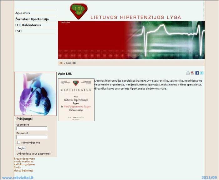 donorystė ir hipertenzija