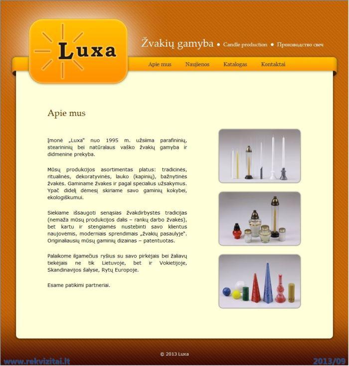 Luxa II Contacts Map Rekvizitailt