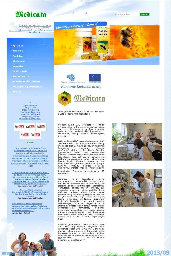 Medicata Filia, UAB  MEDICATA  Contacts, map  Rekvizitai lt