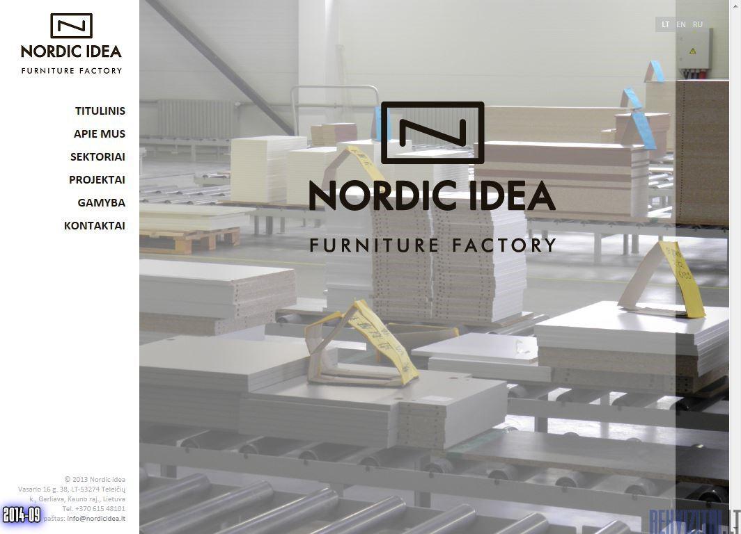 Nordic Idea Uab Contacts Map Rekvizitai Lt