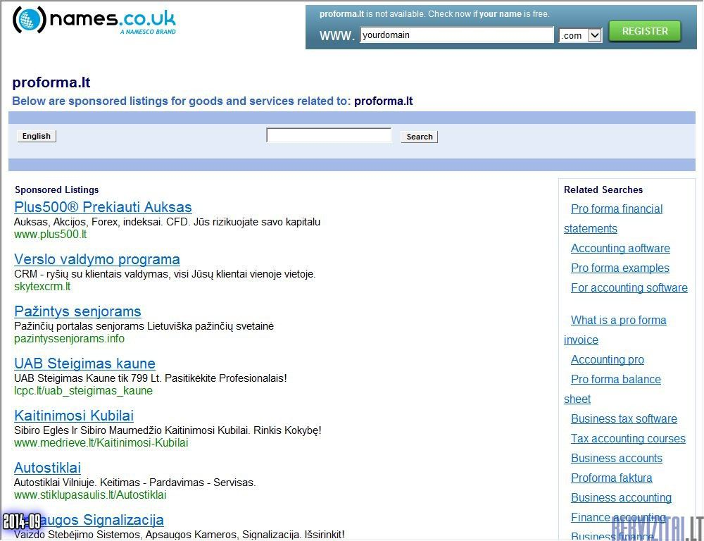 Pro Forma UAB Contacts Map