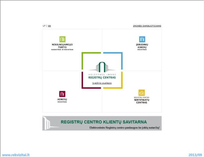 Įmonių registras paieška