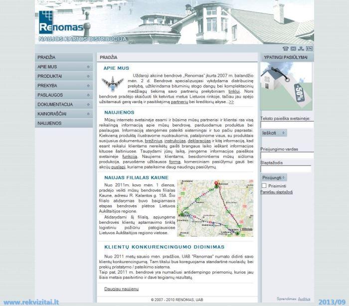 d & m sistemos prekyba)