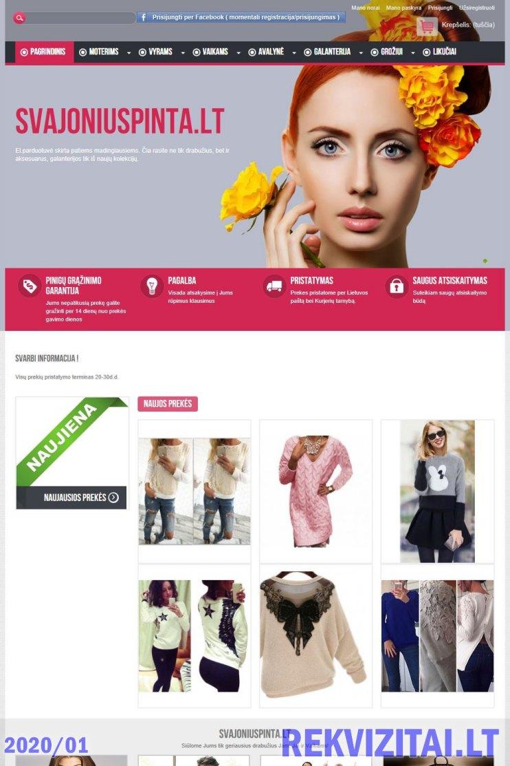 internetine prekyba drabuziais)