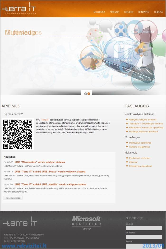tera internetinė prekybos sistema