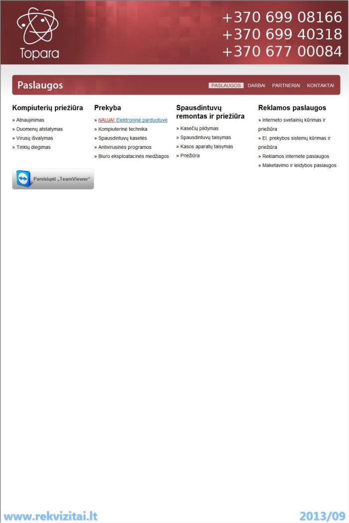 Presta – restoranų prekybos apskaitos sistema
