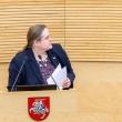 A. Širinskienė siūlo iki balandžio atidėti taršių automobilių mokestį