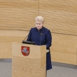 D. Grybauskaitės deklaruotas turtas sumažėjo 300 tūkst. eurų