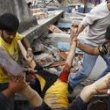 Nepale - žemės drebėjimas, šimtai žuvusiųjų