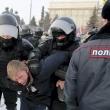 Rusijoje prasidėjus protestams sulaikyta kelios dešimtys A. Navalno šalininkų