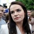 S. Tichanovskajos štabas: iš šalies ji buvo išvežta pareigūnų