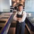 virtuves sefas l ceprackas atidare nauja restorana