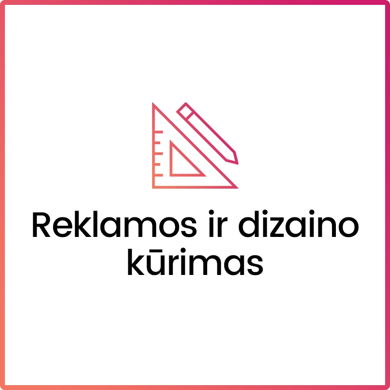 Interneto svetainių kūrimas Klaipėdoje, Vilniuje ir kt.